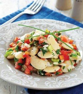 Baharatlı Kuru Fasulye Salatası